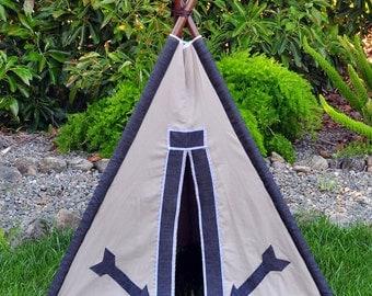 teepee tent play tent photo prop -- ARROW
