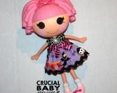 Halloween Dress for Lalaloopsy Dolls // Ready to Ship