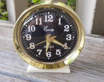 Retro Equity Minibell Wind Up Alarm Clock