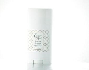 English Rose Natural Deodorant - Coconut Allergy Deodorant, Aluminum Free Deodorant, No Baking Soda Deodorant