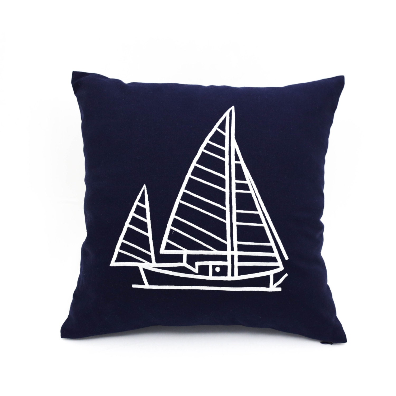 Nautical Design Throw Pillows : Throw pillow covers Nautical throw pillows navy pillow