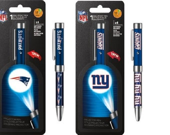 NFL Football Team Projector Ink Pens
