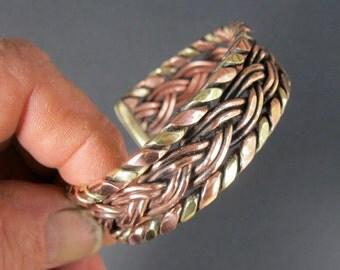 Viking Bracelet Torc Traditional Celtic Craftsman made Copper