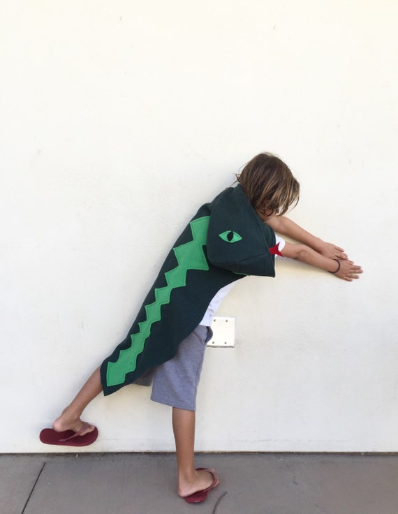 Snake Cape Lizard Cape Halloween Costume or Dress Up Cape