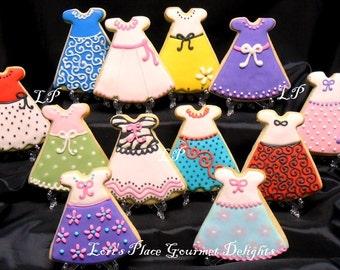 Dress Cookies - 12 Cookies