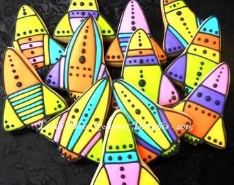 Rocket Ship Cookies - 1 Dozen