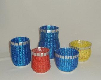 Pop Can Vase - Blue #2