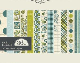 Authentique 6x6 Paper Pad - Loyal