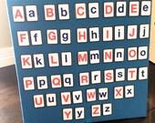 Alphabet Felt Board  Bundle Deal.  104 pcs / Alphabet letters, sign language, objects (A-Z)