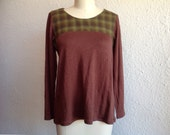 Rita wool shirt Sz 6/8