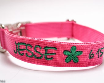 Metal Buckle Personalized Custom Dog Collar with Image