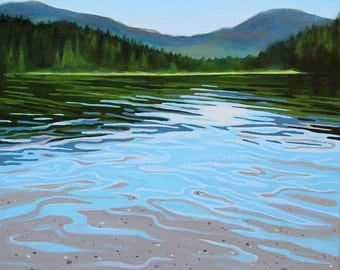 GICLEE Fine Art Reproduction by Daina Scarola on fine art paper - Lost Lake (Whistler, BC)