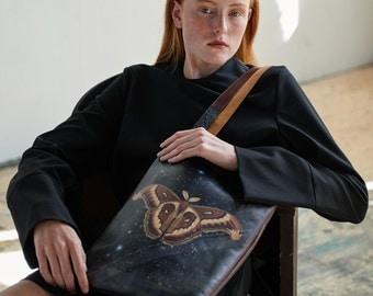 Leather Tote / Laptop bag -Wonderlust (Exclusive range)