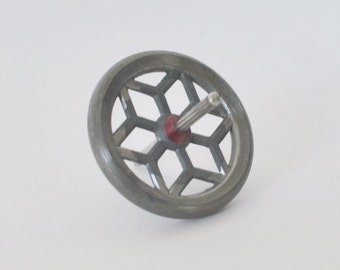 Vintage Metal Gyroscope from the 1960s