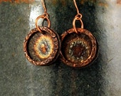 Coin Jewelry, Coin Earrings, Gypsy Jewelry