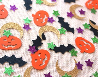 Halloween Party Glitter Confetti - 100 pieces -  Table confetti, Party Decorations