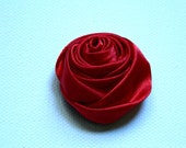 1.25 inch Satin Ribbon Rose Knot DIY craft supply