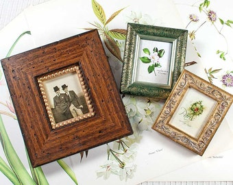 3 Frames Collection Cottage Style Photo Frames
