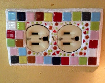 Outlet Wall plate mosaic