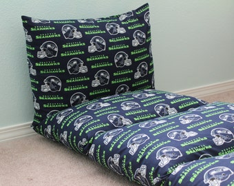 Seattle Seahawks Pillow Bed