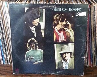 Best Of Traffic Vintage Vinyl Record