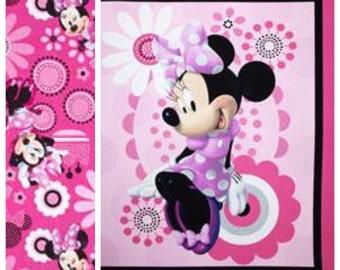 Minnie Mouse Boutique Crib/Mini Crib Toddler Nursery Bedding Set