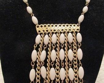 Vintage necklace with Large Center Pendant SALE