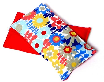 Eye Pillow REFRESH rice filled, cold pack or hot pack, no scents added