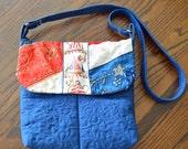 Crazy Quilted Shoulder Bag