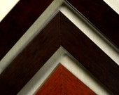 8 x 10 - 12 x 16 Classic Wood Picture Frames in Mahogany, Espresso, and Walnut