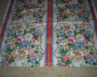4 and a Half Yards of Victoria and Albert Museum Decorator Fabric