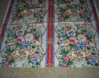 4 Yards of Victoria and Albert Museum Decorator Fabric