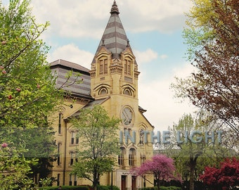 Washington Hall at Notre Dame - Fine Art Photograpy - 8x10, 11x14, other sizes available - fPOE