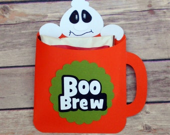 Personalized Halloween- Halloween favors- Hot Coco-Party Favors-Classroom Favors-Trick or Treat-Halloween Party-Halloween-