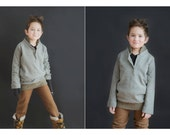 Unisex Grey Knits Sweater - size 6 to 10 youth