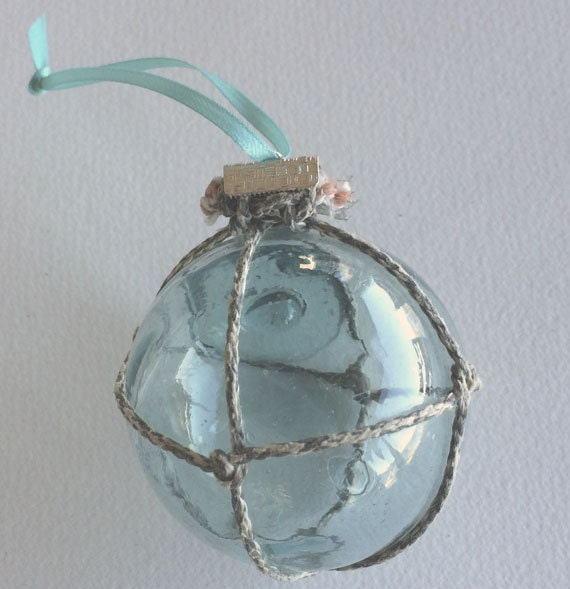 Glass Float Ornament