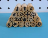Planner and Organizer symbol stamps - Choose six