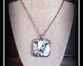 Carolais Calf Pendant With Necklace Chain