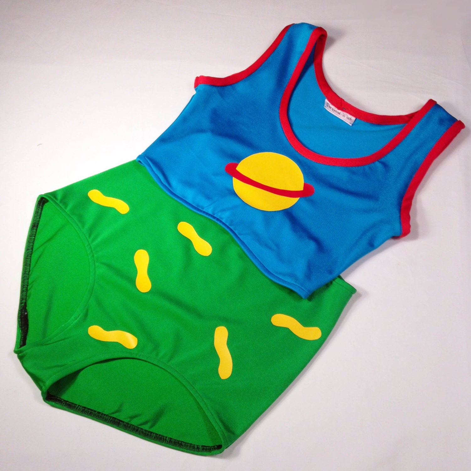 Chuckie Finster Halloween Costume // RugRats Chuckie Swim Suit