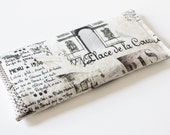 Lavender Eye Pillow Cotton Anniversary Gift for Women, Romantic Dreamy Paris Icons Yoga Spa Pillow Relaxation Gift