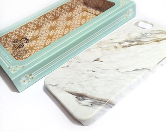 Marble iPhone 6S Case Plastic iPhone Case, Marble iPhone 5S, Stone Print, Samsung Galaxy,  iPhone 6S Plus Case