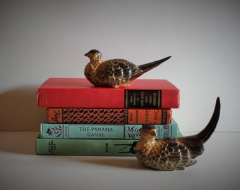 VINTAGE ceramic BIRDS