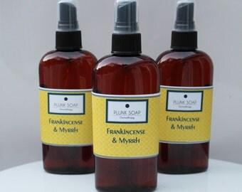 Frankincense and Myrrh Body Spray VEGAN