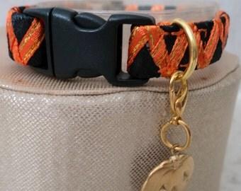 Halloween Kitten Collar with Breakaway Buckle for Safety