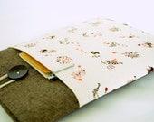Cat iPad Case Padded Cover, Kitten iPad Air Case, Kitty Cat Padded Case, Galaxy Tab, Custom Sizes Available