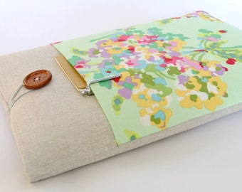 "15"" Laptop Case, 15"" Computer Sleeve, 15"" Retina MacBook Pro 15.6 inch - Watercolor Floral"