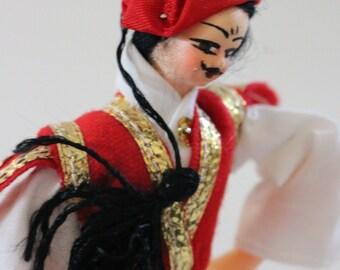 Vintage Greek Evelt Evzon Creta Costume Doll
