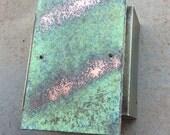 Desert Sage // Copper & Steel Light Sconce // Rustic Style