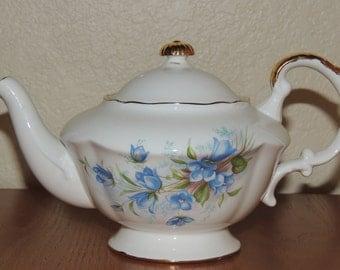 English Bone China Individual teapot