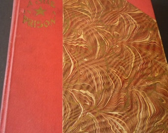 Antique Book - A Star in a Prison - 1890's tale of Canada - - by Anna May Wilson - Rare book Canadian history